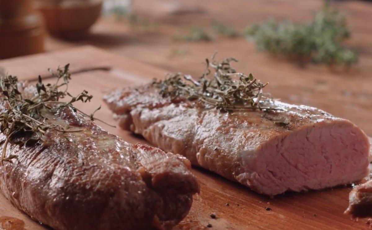 Exemple de temps de cuisson pour filet de porc
