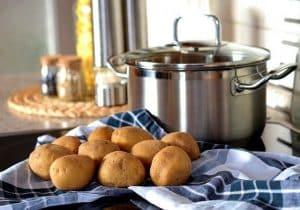 Pommes de terre dont le choix agit sur le temps de cuisson du gratin dauphinois
