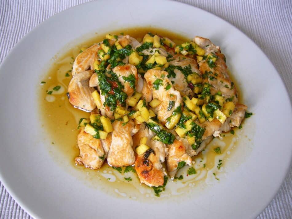 recette aiguillette poulet