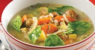 recette soupe légumes