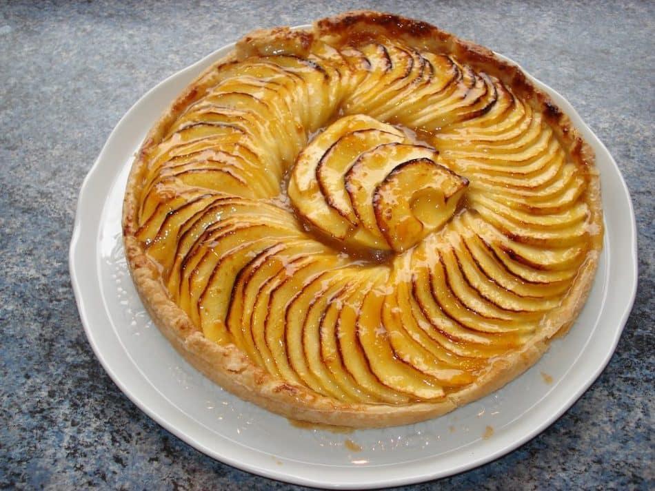 Temps de cuisson tarte aux pommes r galez vous dur e cuisson etc - Dessin de tarte aux pommes ...