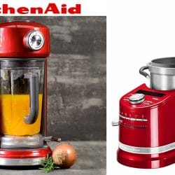 blender kitchenaid chauffant