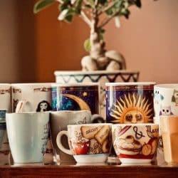 Tasses de Thé pour la journée