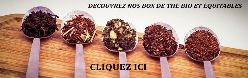 Box Thé : recevoir une box de thé bio et équitables