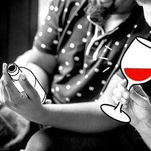 Déguster du bon vin entre amis