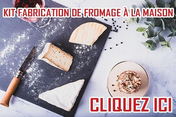 kit fabricaiton fromage maison